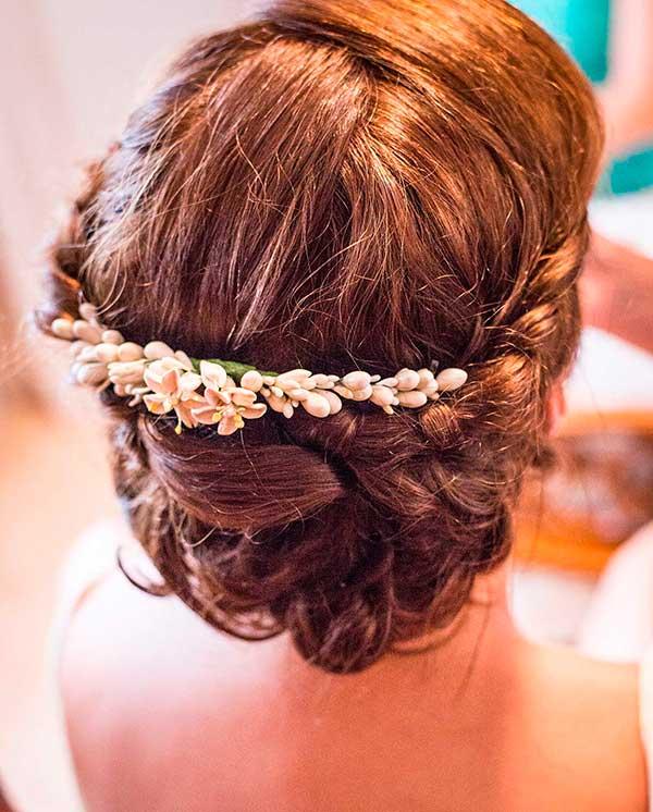 peinados de novias con estilo